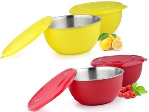 Sayee Stainless Steel Multicolor Bowl Stainless Steel Bowl Set