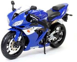 Maisto Yamaha Yzf R1 Motorcycle Bike Model Blue 1 12