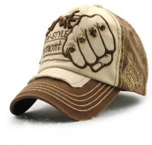 6932f47949f HANDCUFFS Handcuffs Stylish Cotton Baseball Adjustable Brown Cap For Men  Women Cap Best Price in India