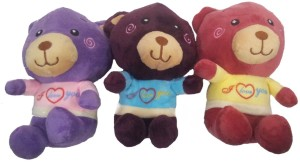 aparnas cute looking teddy bear for playing kids decoration or birthday giftlove girl sister  - 18 cm