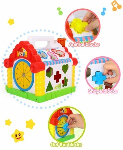 GoAppuGo Amazing Learning House With Piano Baby Birthday Gift For 1 2 3 Year Old Boy Girl KidsMulticolor