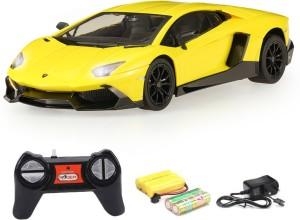 Tabby Toys Lamborghini Aventador Lp720 4 Sport Racing Car Yellow