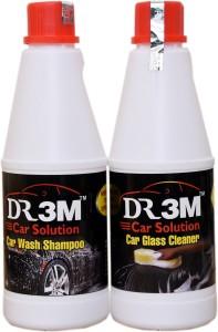 dr3m CAR WASH SHAMPOO 1LTR/ CAR GLASS CLEANER 500ML. Car Washing Liquid