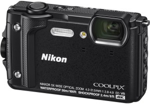 Nikon Coolpix W300 (Black) Shockproof waterproof Advanced Point & Shoot Camera