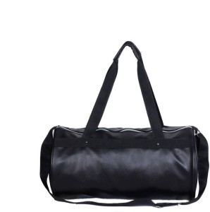 a4928b5942bf RR Accessories Vivacious Black Leather Rite Gym Bag ( Black )