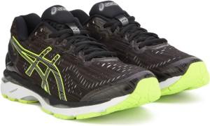 online store ca7f6 3e3d6 Asics GEL-KAYANO 23 LITE-SHOW Running ShoeBlack, Green