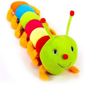 Radhe Beautiful Cute Colorful Caterpillar   - 20 cm