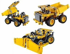 Montez Decool 3363 362pcs 2 IN 1 Mining Truck Building Block set Toy