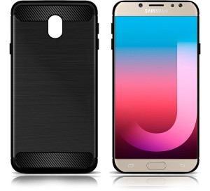 buy popular 230d6 81531 Hupshy Back Cover for Samsung Galaxy J7 ProBlack, Rubber
