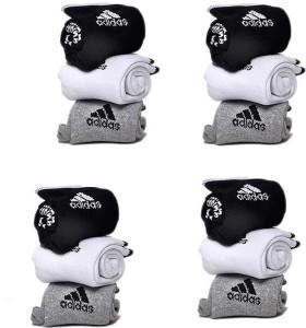 Adidas Men & Women Ankle Length Socks