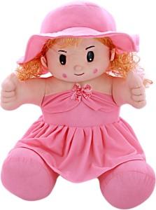 SANA TOYS Sana Kareena SItting Doll With Long Hair cm  - 50 cm