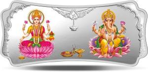 MMTC-PAMP India Pvt Ltd Stylized Lakshmi Ganesha S 9999 250 g Silver Bar