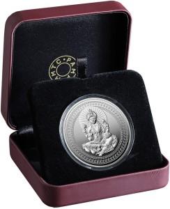 MMTC-PAMP India Pvt Ltd Antique Lakshmi S 9999 31.1 g Silver Coin