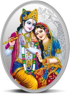 MMTC-PAMP India Pvt Ltd Krishna Series S 9999 31.1 g Silver Coin