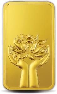 MMTC-PAMP India Pvt Ltd Lotus series 24 (9999) K 10 g Gold Bar