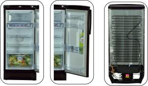Godrej 190 L Direct Cool Single Door RefrigeratorJasmine Wine, RD EDGE PRO  190 CT 3 2