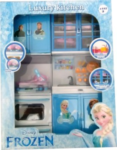 Presentsale Beautiful Toy Frozen Kitchen Set For Kids Best Price In
