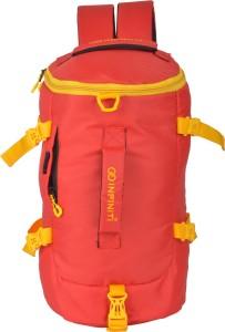 INFINITI Red Multi Utility Travel Duffel Bag