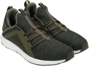 0e408ef430031c Puma Mega NRGY Knit Running Shoes Olive Best Price in India