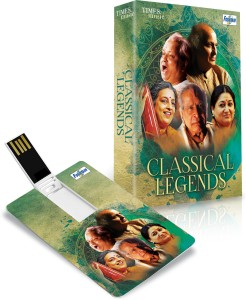 Music Card: CLASSICAL LEGENDS Pendrive Standard Edition