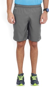 Nike Solid Men's Grey Sports Shorts