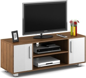 227b7d9fe Spacewood Modern Engineered Wood TV Entertainment UnitFinish Color - Brown