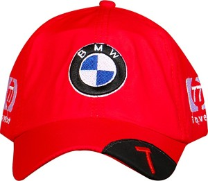722e61f612d Merchanteshop BMW Red Cotton Base Ball Style Mens Boys Cap