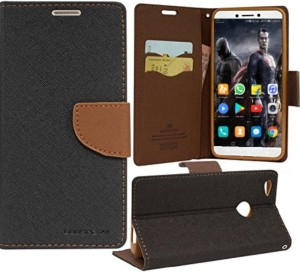 iPaky Wallet Case Cover for Oppo F3 Plus