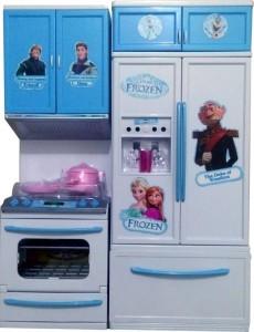 Dhawani Frozen Luxury Battery Operated Mini Kitchen Set For Girls