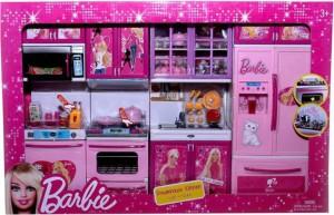 Dhawani Barbie Dream House Kids Choice Big Size Kitchen Modern