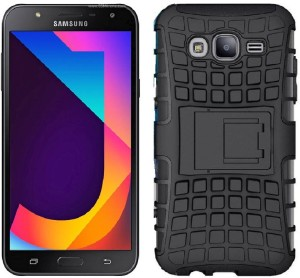 free shipping 791b9 4a72f Carrywrap Back Cover for Samsung Galaxy J7 NxtCrystal Black, Plastic