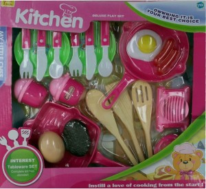 Hamleys Comdaq Kitchen Set With Pans And Cutlery Best Price In India