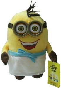 aparnas cute looking minion karate despicable me for kids gift birthday love girl_30cm  - 30 cm