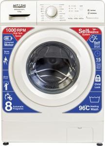 Mitashi 6 kg Fully Automatic Front Load Washing Machine White