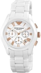 7a7bcf0b9 Emporio Armani AR1416 Ceramica White Watch For Men Best Price in ...