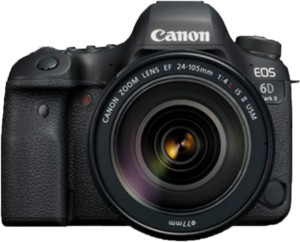 Canon EOS 6D Mark II DSLR Camera Body with Single Lens: EF24-105mm f/4L IS II USM