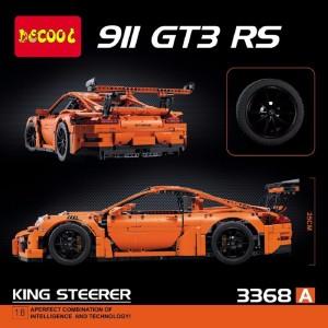 Montez Decool 911 GT3 RS King Steerer 2728pcs Block Building Car