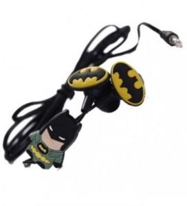 Shopkooky Batman Shaped In Ear Earphones with Extra Earbuds / Return Gift / Birthday Gift Headphone