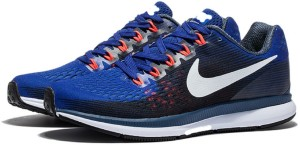 482871184eba8 Adibon Air Zoom Pegasus 34 Running Shoes Blue Best Price in India ...