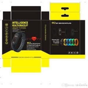 Vigo M2 Smart Fitness Band with heart rate monitor Waterproof (Black)Black