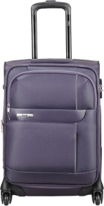 2c6ebe53d V I P Axis 4W EXP Strolly 54 Cabin Luggage 22 inch Purple Best Price ...