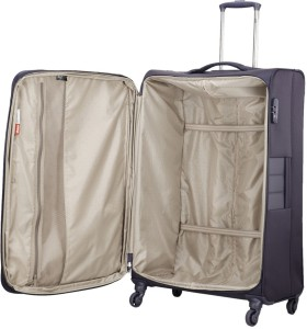 d00402688 V I P Pioneer 4W EXP Strolly 81Cm Check in Luggage 33 inch Purple ...