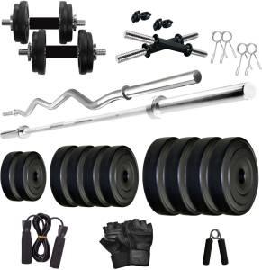 KRX PVC 20 KG COMBO 2 WB -SL Home Gym Kit