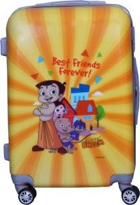Fortune Chhota Bheem BestFriend Forever 22 Inch Kids Luggage trolley Bag Cabin Luggage - 22 inch