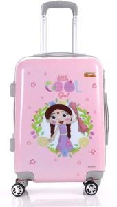 Fortune Chhota Bheem Chutki Littile Cool Girl set of 20 Inch Kids Luggage trolley Bag Cabin Luggage - 20 inch