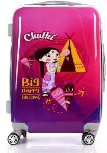 Fortune Chhoota Bheem Chutki Big happy Dreams 20 Inch Luggage trolley Bag Cabin Luggage - 20 inch