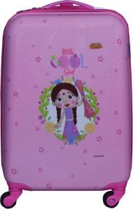 Fortune Chhota Bheem Chutki Littile Cool Girl 18 Inch Kids Luggage Trolley Bag Cabin Luggage - 18 inch