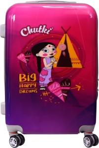 Fortune Chhoota Bheem Chutki Big happy Dreams set of 22 Inch Luggage trolley Bag Cabin Luggage - 22 inch