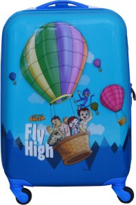Fortune Chhota Bheem Fly High 18 Inch Kids Luggage Trolley Bag Cabin Luggage - 18 inch