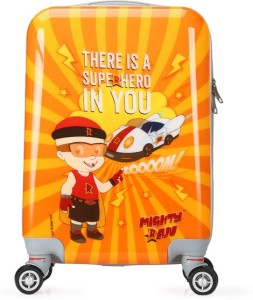 Fortune Chhota Bheem Super Hero In You 18 Inch Kids Luggage Trolley Bag Cabin Luggage - 18 inch